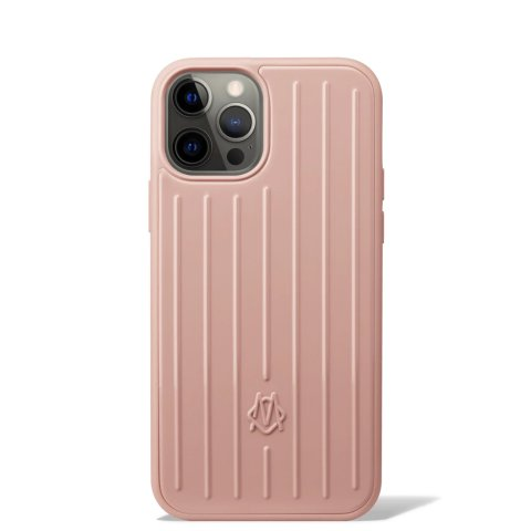 Desert Rose Pink Groove Case for iPhone 12 & 12 Pro | RIMOWA