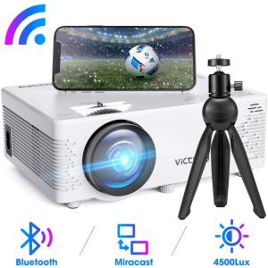 7.7折€84收 最后10小时限今天:VicTsing  投影仪1080P全高清 手机、平板、笔记本、PC兼容