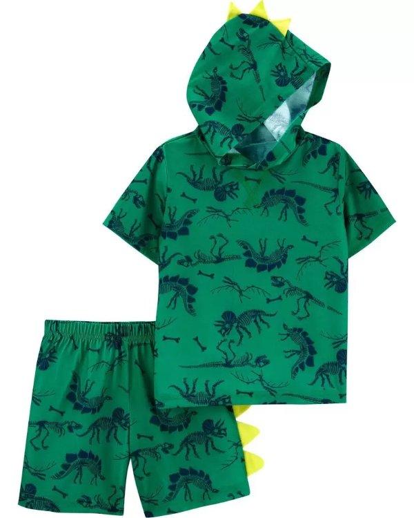 小童恐龙居家服套装