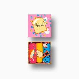 Happy Socks礼盒装3双