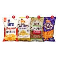 Utz 综合包装零吃 4包