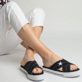 额外6折+包邮 封面款仅$16Converse官网 夏日闪购会 帆布鞋、潮拖折上折