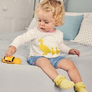 低至5折+新款享9折即将截止:Mini Boden 高品质高颜值童装促销,多数州无税