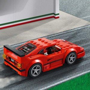 LEGO Speed Champions 75890 法拉利F40 7.3折特价