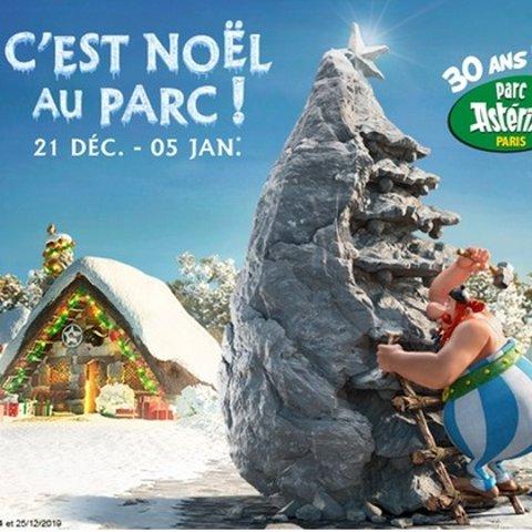 成人和儿童票价均为€22.5史低价:Parc Astérix 主题公园圣诞前后门票热促