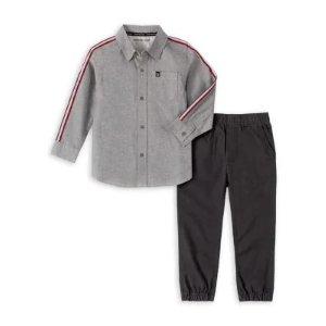 Calvin Klein 男童衬衫2件套