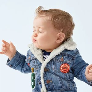 Extra 40% Off + Free Shipping Baby and Kid's Clothing @ Gap
