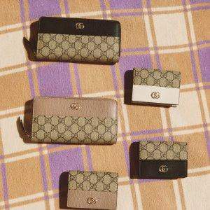 定价优势+免邮 收封面新款上新:SSENSE 大牌钱包专场 Gucci、BBR、YSL钱包$520