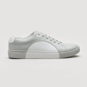 They New YorkCircle Low in Grey-White