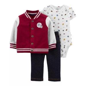 Carter's3-Piece Varsity Little Jacket Set
