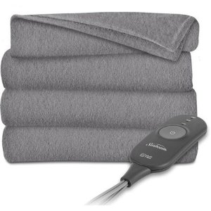 $25.99Sunbeam Electric Heated Fleece Throw Blanket, 60-Inch by 50-Inch