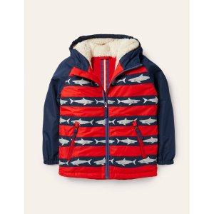 Boden儿童羊羔绒保暖外套