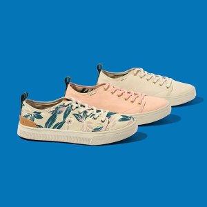 7.5折 $30收超舒适帆布鞋限今天:TOMS官网 全场美鞋大促 折扣区也参加