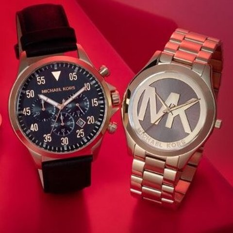 低至3折 €84起收男士手表限今天:Michael Kors 首饰&男女表闪促 你值得拥有的文艺时装表