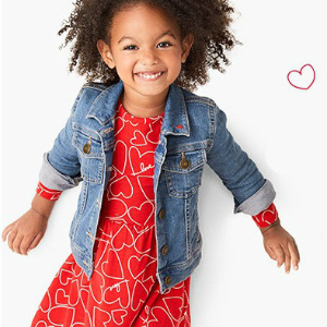 Extended: Extra 25% Off $40+ + Free ShippingUp to 60% Off Valentine's Day Faves @ Carter's