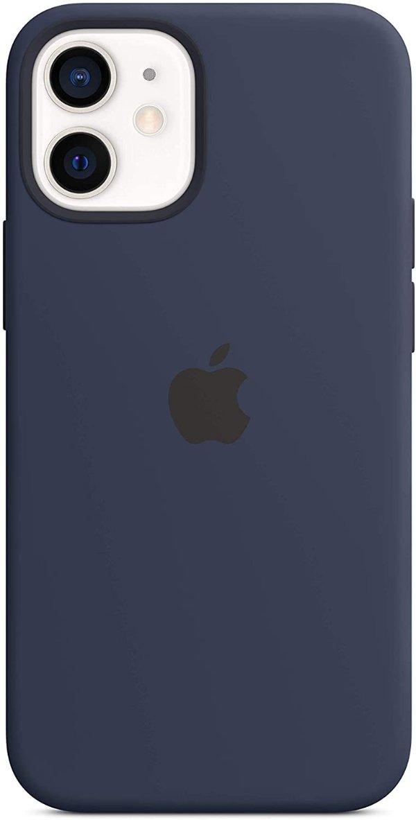 iPhone 12 mini 液态硅胶手机壳 深蓝