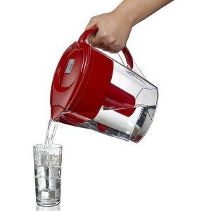 $19.77(原价$21.97) 3色可选Brita 德国碧然德家用滤水壶 6杯水量 健康净水过滤杂质氯气