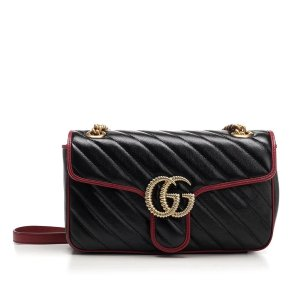 Gucci有货!GG Marmont 链条包