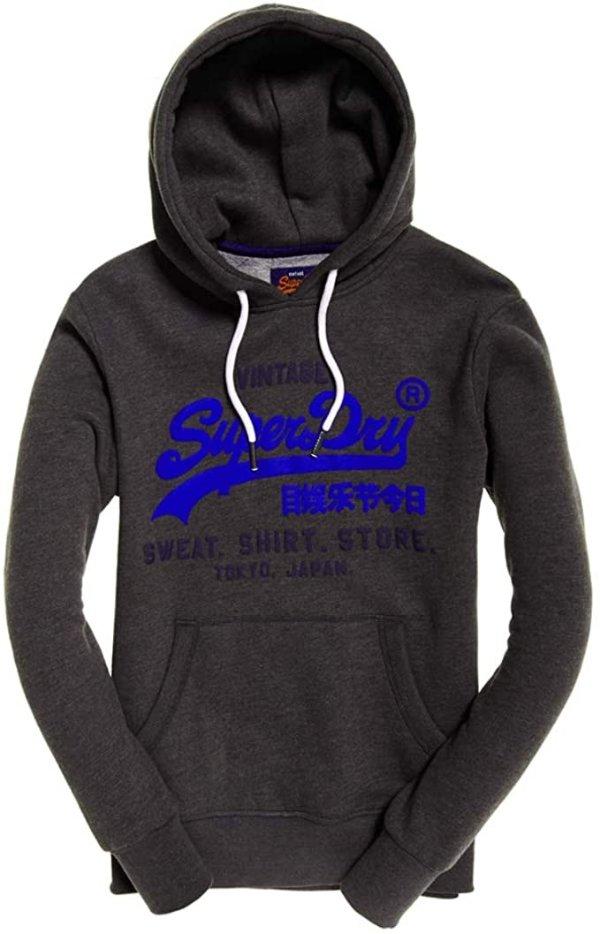 Superdry logo卫衣