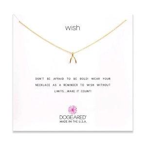 Dogearedwish necklace