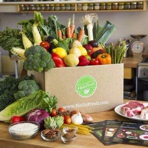 套餐立减$35 新鲜食材到你家HelloFresh 精选新鲜蔬菜肉类套餐热卖