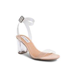 PVC 透明高跟凉鞋