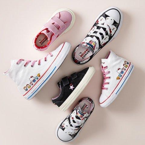 Converse x Hello Kitty Kids Shoes