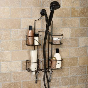 $8.15Zenna Home Expandable Over-The-Shower Caddy, Bronze