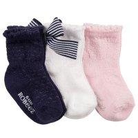 Robeez 女婴袜子3双
