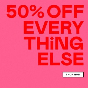 50% OffEnding Soon: Nasty Gal Sitewide Full-priced Items Sale