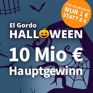 首注只要€1 平均每3张就能中1张一年仅1次!奖金总计6500万欧元!El Gordo万圣节特别彩票