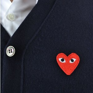 10% off Comme des Garcons Play @ Farfetch
