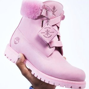 额外7折+额外9折 收高颜值粉靴Timberland 折扣区男、女鞋夏季大促