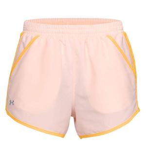 $14.23白菜价:Under Armour Fly-by 女士运动短裤xs码