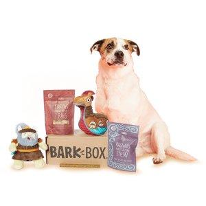每月可免费多获得一个汪星人玩具Barkbox 狗狗神秘订阅礼盒 为你家汪星人准备的专属礼物盒
