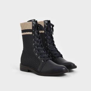 $76收Fendi平价款Charles & Keith 网红短靴上新发售