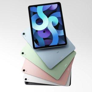 折后€594起 颜色款式齐全全新 Apple iPad Air 热卖 全面屏设计 搭载A14处理器
