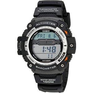 7.4折 $46.99(原价$63.44)Casio男士双传感器多功能数字运动手表