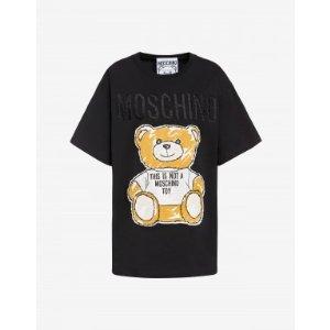 acd14438abd MoschinoJersey t-shirt Brushstroke Teddy Bear - SS19 Ready-to-Bear - SS19.  $197.50 $395.00. Moschino Jersey ...