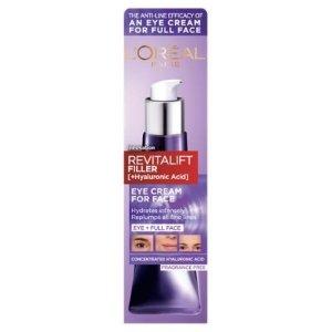 L'Oreal30ml!成分升级!全脸可用!紫熨斗初抗老全脸眼霜