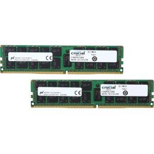 Crucial 32GB (2 x 16GB) DDR4 2133 ECC 内存套装