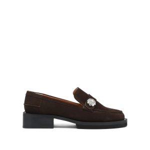 Ganni水钻穆勒鞋