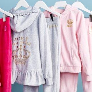 Juicy Couture 女童服饰促销,上学玩耍都合适
