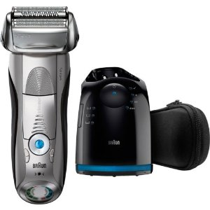 8a1a729712b Braun- Series 7 Wet Dry Electric Shaver - Silver