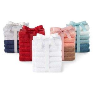 Asstd National BrandMorgan Home Fashions 6pc Washcloth Set