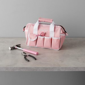 Amazon Basics 粉色家用工具82件套