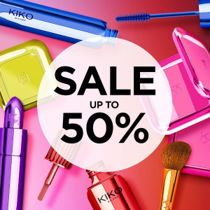 Up to 50% Off On Selected Products @ Kiko Milano