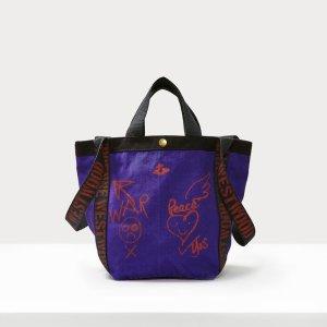 Vivienne Westwood涂鸦购物袋