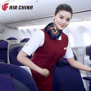 全场$280起 纽约至上海往返$742最后一天:国航官网北美至中国及亚洲地区机票2日限时秒杀
