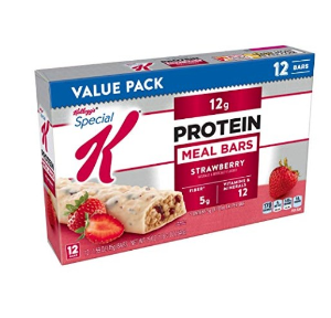 30% Off + Free ShippingSpecial K Protein Meal Bars, Strawberry, Value Pack, 19 oz (12 Count)
